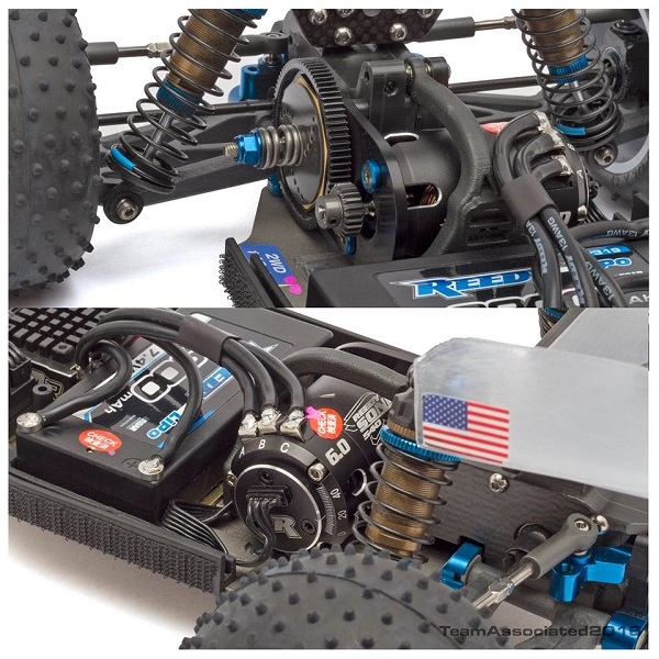 Teaser Team Associated Laydown Three Gear Transmisson (11)