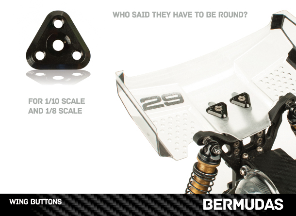Upgrade RC Bermudas Wing Buttons For 1_10 And 1_8 Vehicles (2)