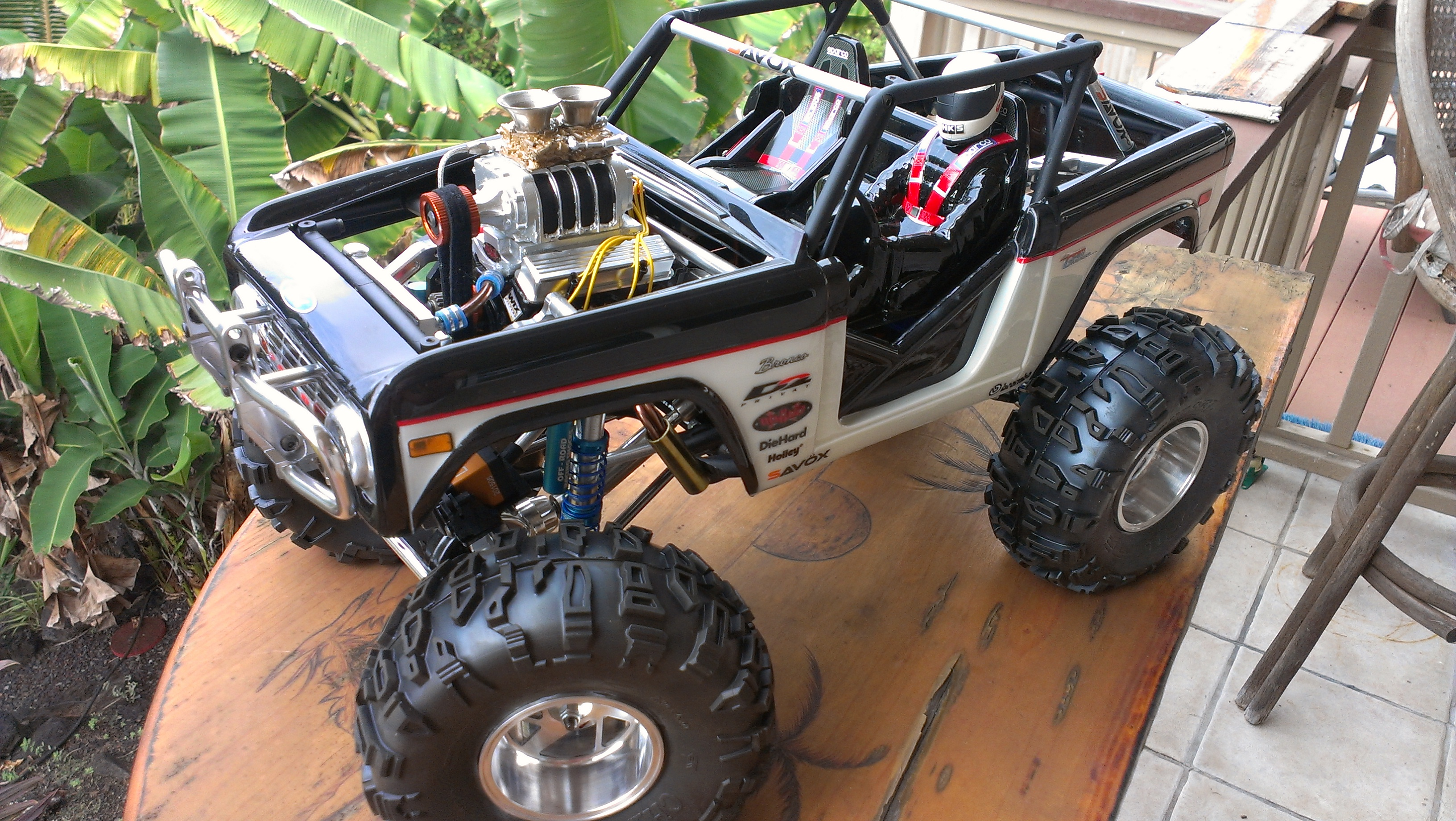 Axial Wraith Custom Bronco by Dan Boyle [READER'S RIDE]