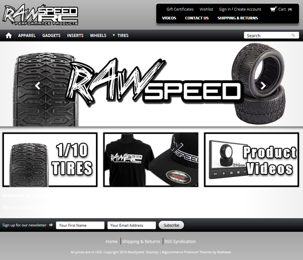 raw speed website