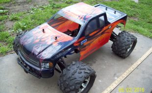 Traxxas Revo 1/5-scale Conversion by Rick Ortega [READER'S RIDE]