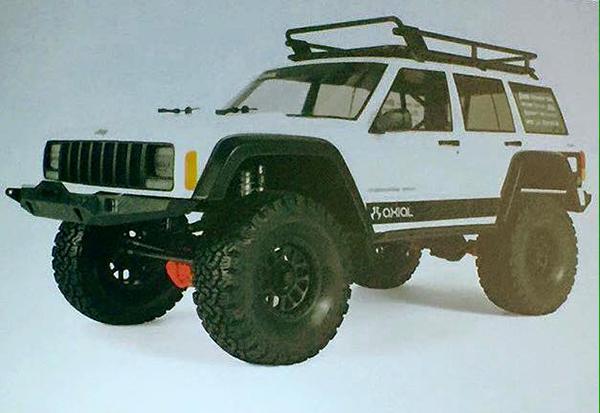 Axial SCX10 II sneak peek