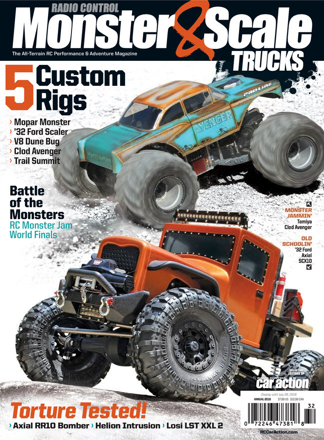 2016 Monster & Scale Trucks cover