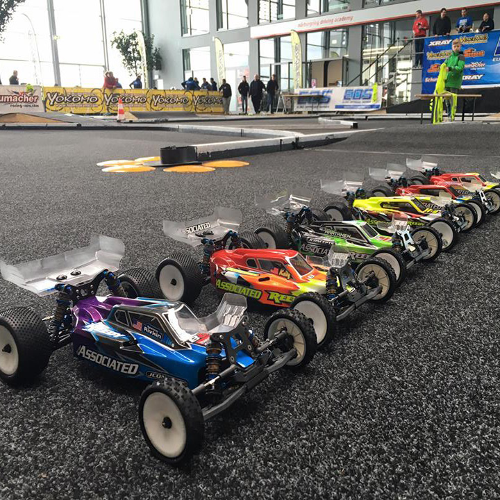 team associated s b6 takes the win in euro off road series debut