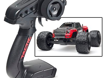 ARRMA Granite Mega Now Equipped With Tactic TTX300 Radio System