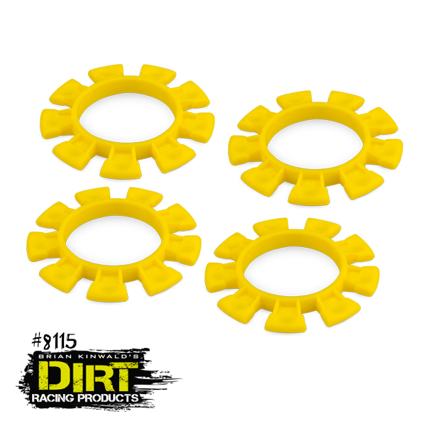 Dirt Racing Products Yellow Dirt Bands (2)