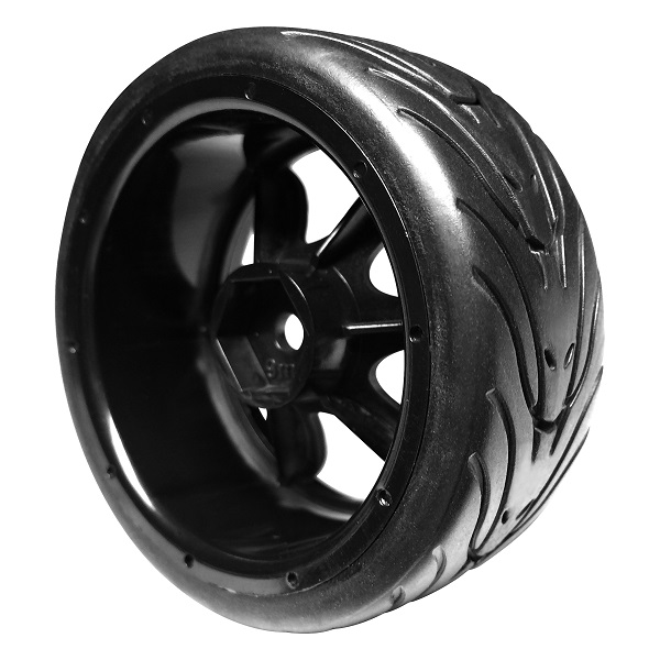 FireBrand RC BloodShot-RT9 On-Road Wheels And Fang Tires (4)