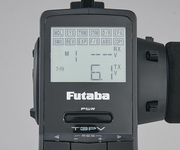 Futaba 3PV Radio With Telemetry System (7)