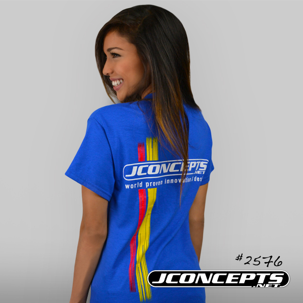 JConcepts Red And Yellow Racing Stripes T-Shirt (2)