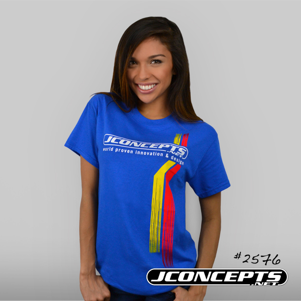 JConcepts Red And Yellow Racing Stripes T-Shirt (3)