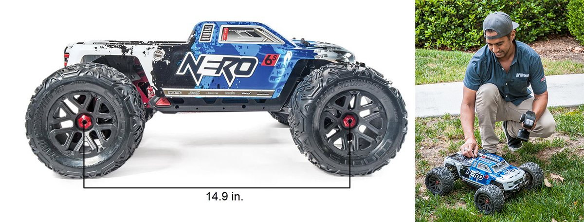 Arrma Nero 6s BLX brushless monster truck image copyright Air Age Media 2016