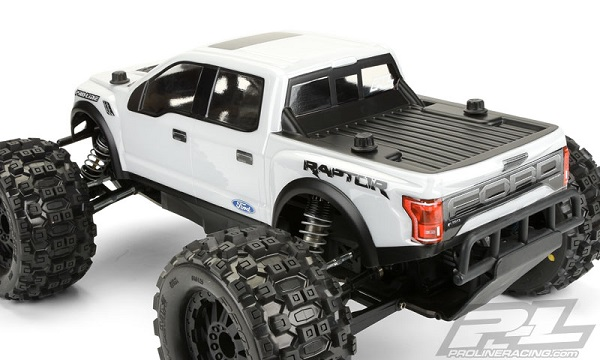 Pro-Line 2017 Ford F-150 Raptor Clear Body For The PRO-MT (2)