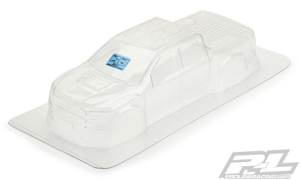 Pro-Line 2017 Ford F-150 Raptor Clear Body For The PRO-MT (3)