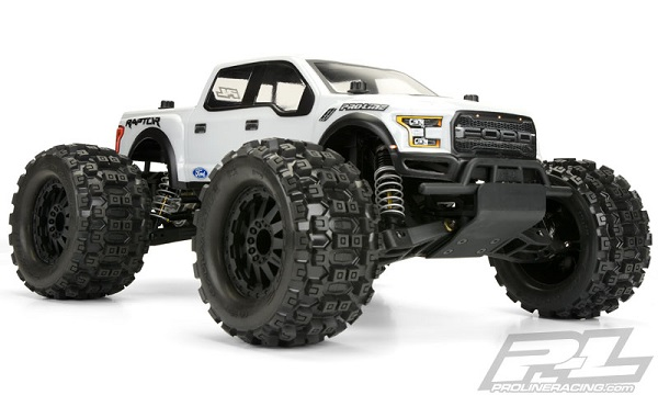Pro-Line 2017 Ford F-150 Raptor Clear Body For The PRO-MT (4)
