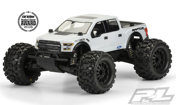 Pro-Line 2017 Ford F-150 Raptor Clear Body For The PRO-MT (5)