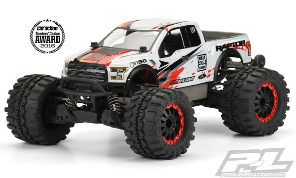 Pro-Line-2017-Ford-F-150-Raptor-Clear-Body-For-The-Traxxas-Stampede-4