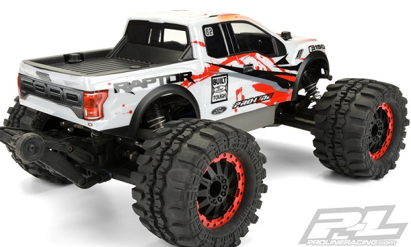Pro Line 2017 Ford F 150 Raptor Clear Body For The Traxxas Stampede