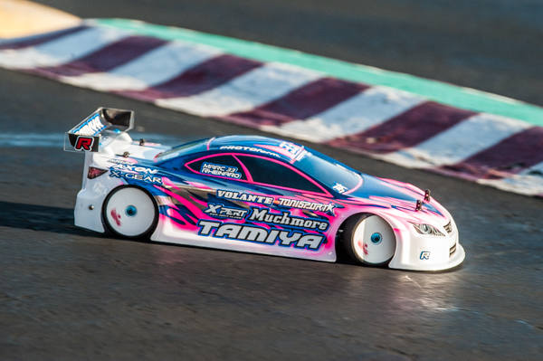 Tamiya's Marc Rheinard is looking fast and a good bet for repeating his 2015 winning performance.