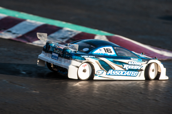 Team Associated's Juho Levanen is always fast and now equipped with the new TC7.