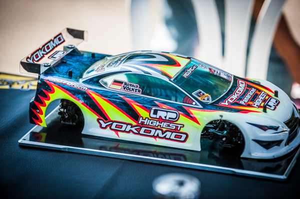 Yokomo's Ronald Volker has found something special and unless someone else can find another level of speed, the outcome for the event may be predestined in his favor.