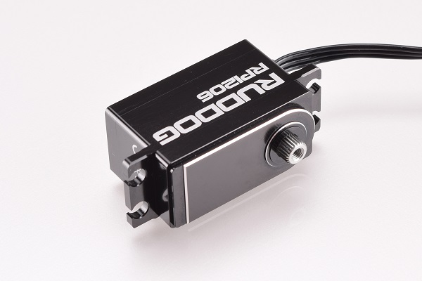 RUDDOG RP1206 Low Profile Servo (4)