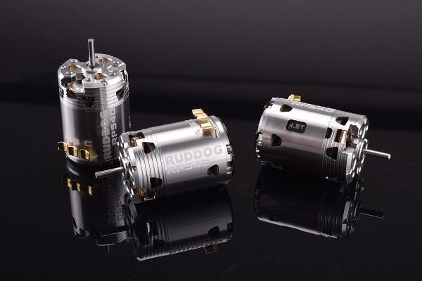 RUDDOG RP540 Sensored Competition Brushless Motors (3)