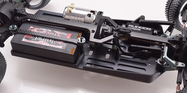 Revolution Design Aluminium Chassis For The Carisma 4XS 4WD Buggy