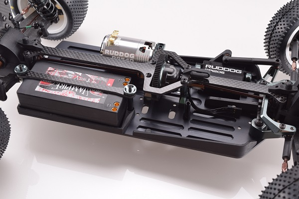 Revolution Design Aluminium Chassis For The Carisma 4XS 4WD Buggy (4)