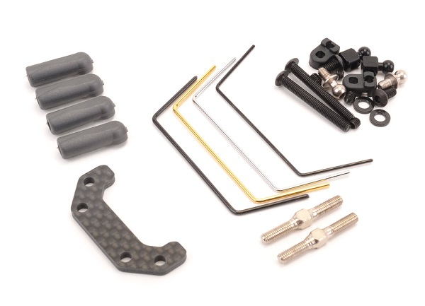 Schumacher Front Roll Bar Kit For The CAT K2 4wd Buggy (1)
