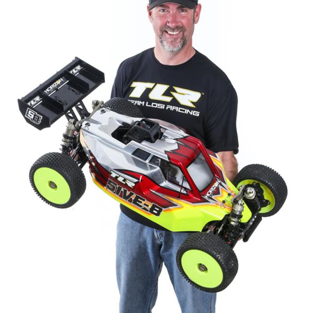 big gas burnin buggy tlr announces new 5ive b video