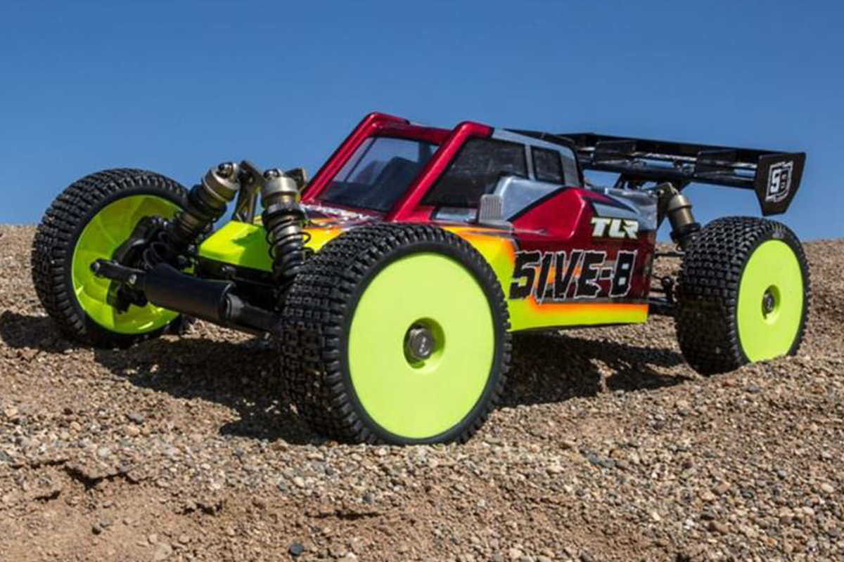 TLR Losi 5IVE-B gas buggy w
