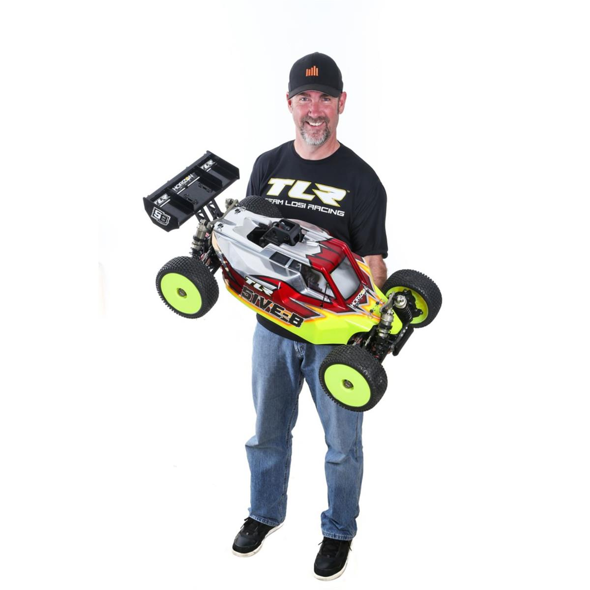 TLR Losi 5IVE-B gas buggy y