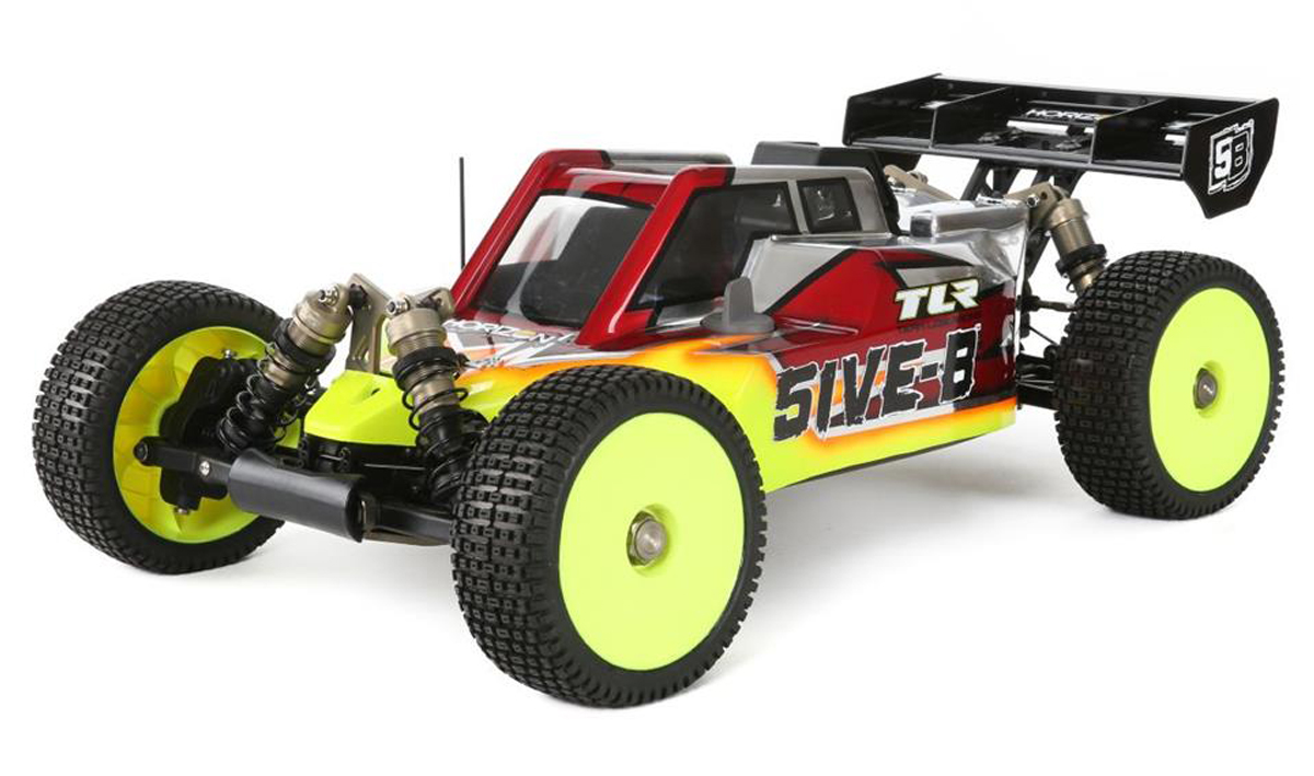 TLR Losi 5IVE-B gas buggy