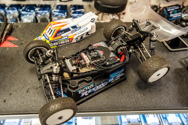 Jake has been running his TLR 22 3.0 with laydown conversion with favorable results.