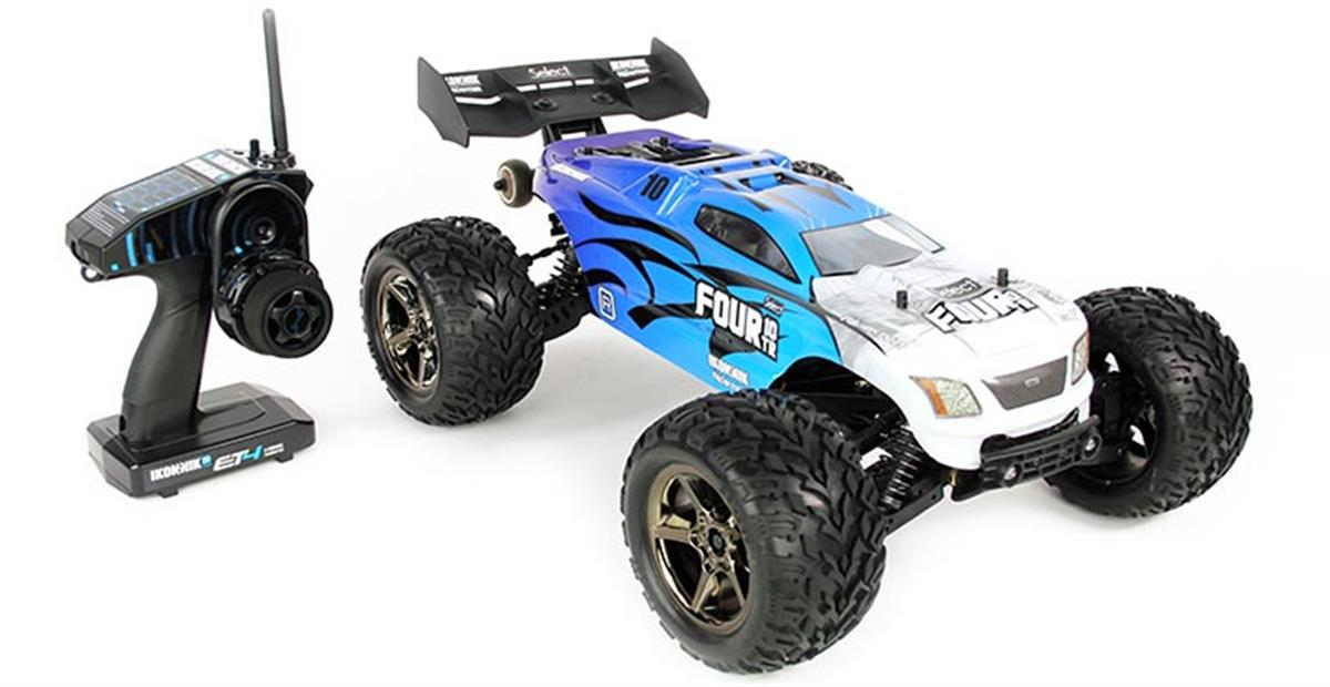 Helion RC Select FOUR 10 TR electric 4X4 monster truck RTR