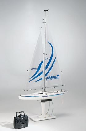 AquaCraft Models RTR Paradise Sailboat Now With Tactic TTX410 SLT Radio System (2)