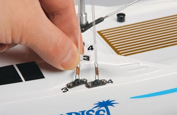 AquaCraft Models RTR Paradise Sailboat Now With Tactic TTX410 SLT Radio System (4)