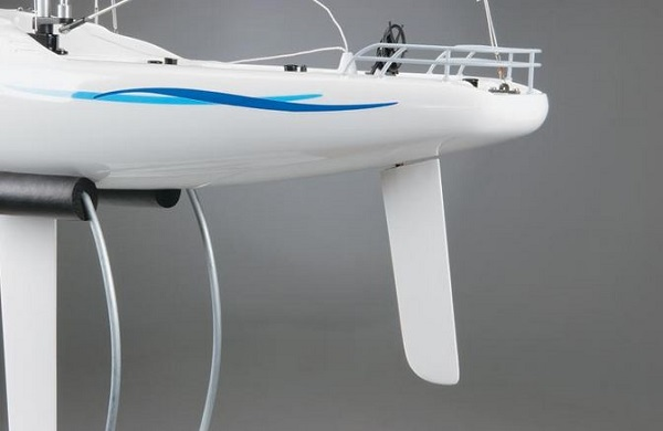 AquaCraft Models RTR Paradise Sailboat Now With Tactic TTX410 SLT Radio System (8)
