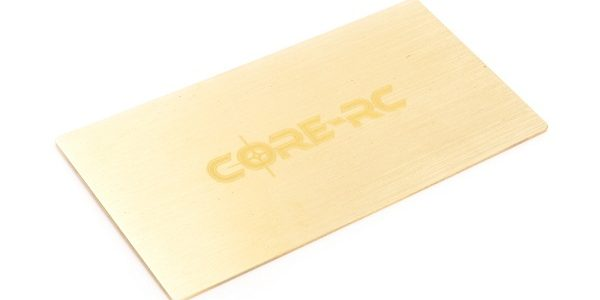Core RC Brass Under Lipo Weight