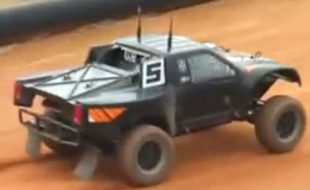 This Truck Is Driving and Drifting All By Itself [VIDEO]