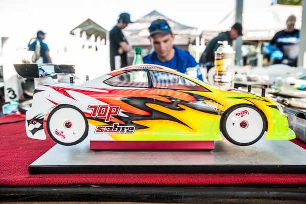 Like most factory drivers, Evans chooses the Protoform LTC-R when racing on asphalt.
