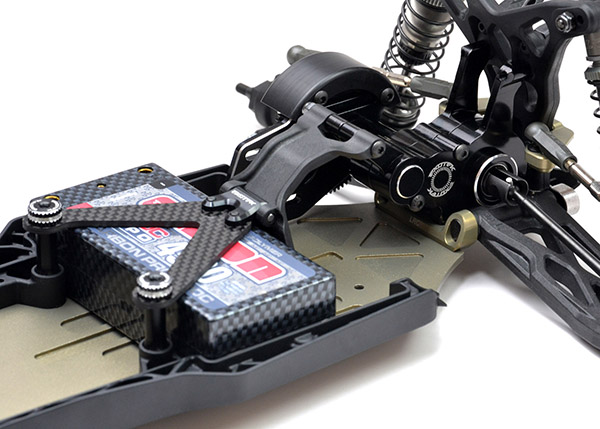 Tuning company Exotek has their own limited edition conversion kit for the TLR 22 3.0 with an aluminum transmission case.