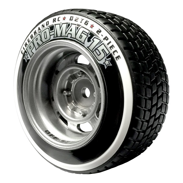 FireBrand RC PRO-MAG 15–D2T6 Tires & Wheels (1)
