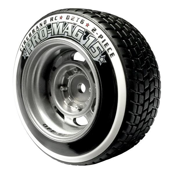 FireBrand RC PRO-MAG 15–D2T6 Tires & Wheels (1)