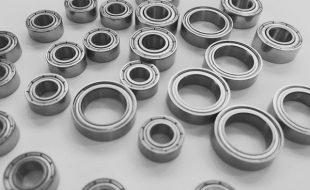 Gravity RC Ceramic Coated Steel Bearing Kit