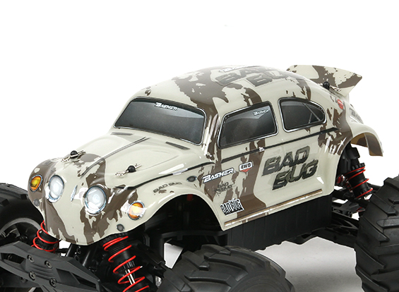 HobbyKing RTR Bad Bug Basher 1/16 4WD Mini Monster Truck V2