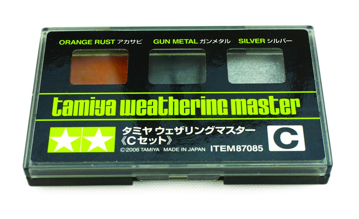 How to weather a hard body Tamiya Weathering Kit