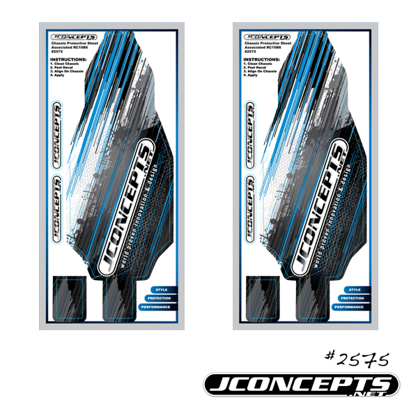 JConcepts B6_B6D Precut Chassis Protective Sheet (1)