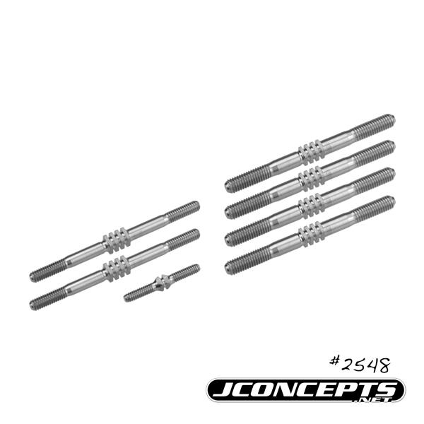 JConcepts TLR 8ight-E 4.0 Fin Titanium Turnbuckles (2)