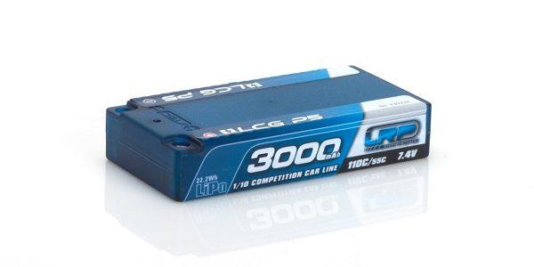 LRP 3000mah Shorty LCG P5 110C/55C 7.4v LiPo
